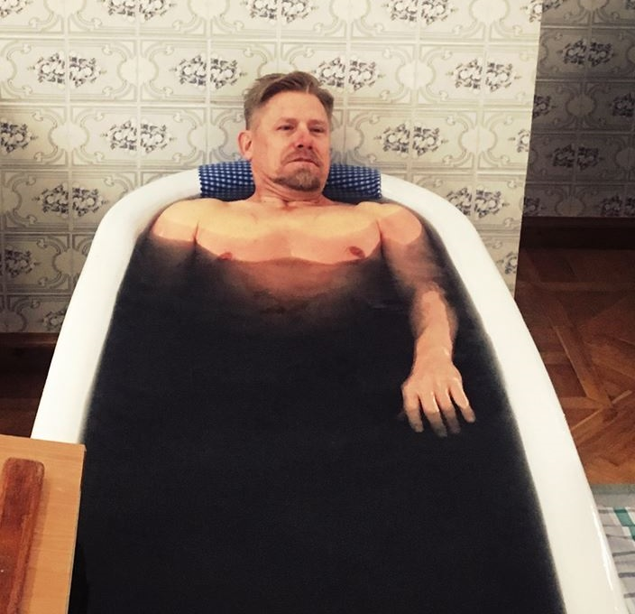 Звезда мирового футбола принял ванну Мацесты