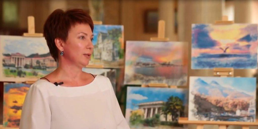 Мацеста принимает участие в непростой жизни художника Светланы Прокопенко.