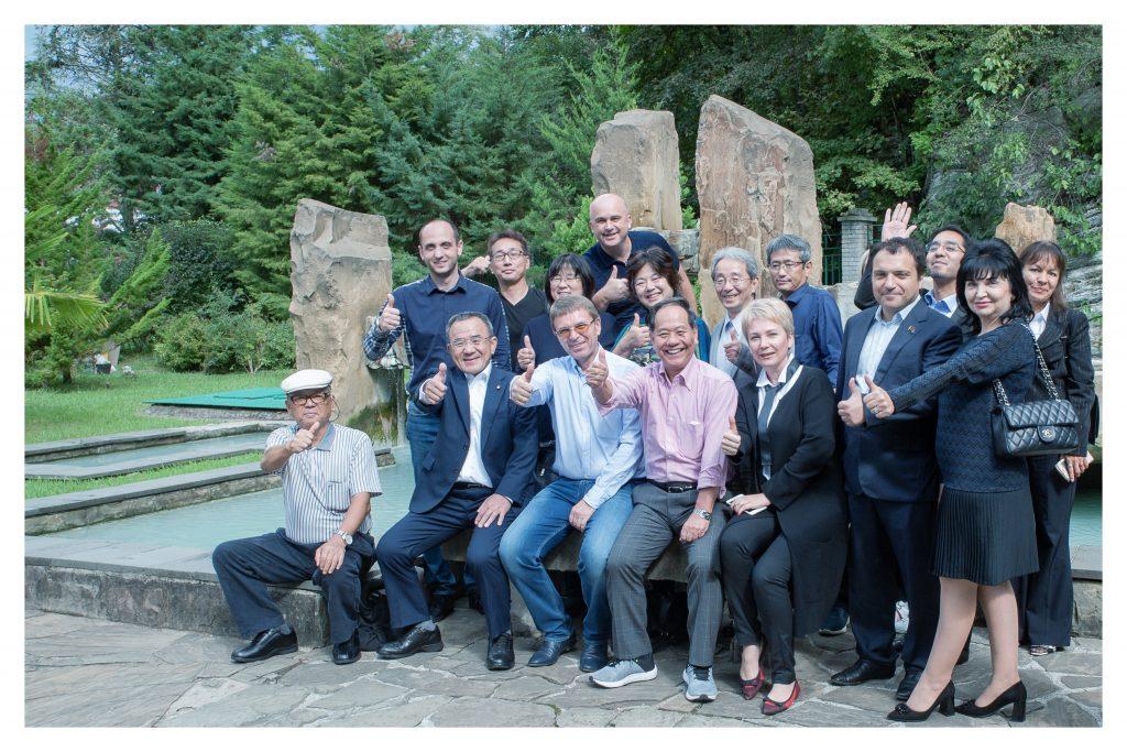 Делегаты из страны восходящего солнца на Мацесте!