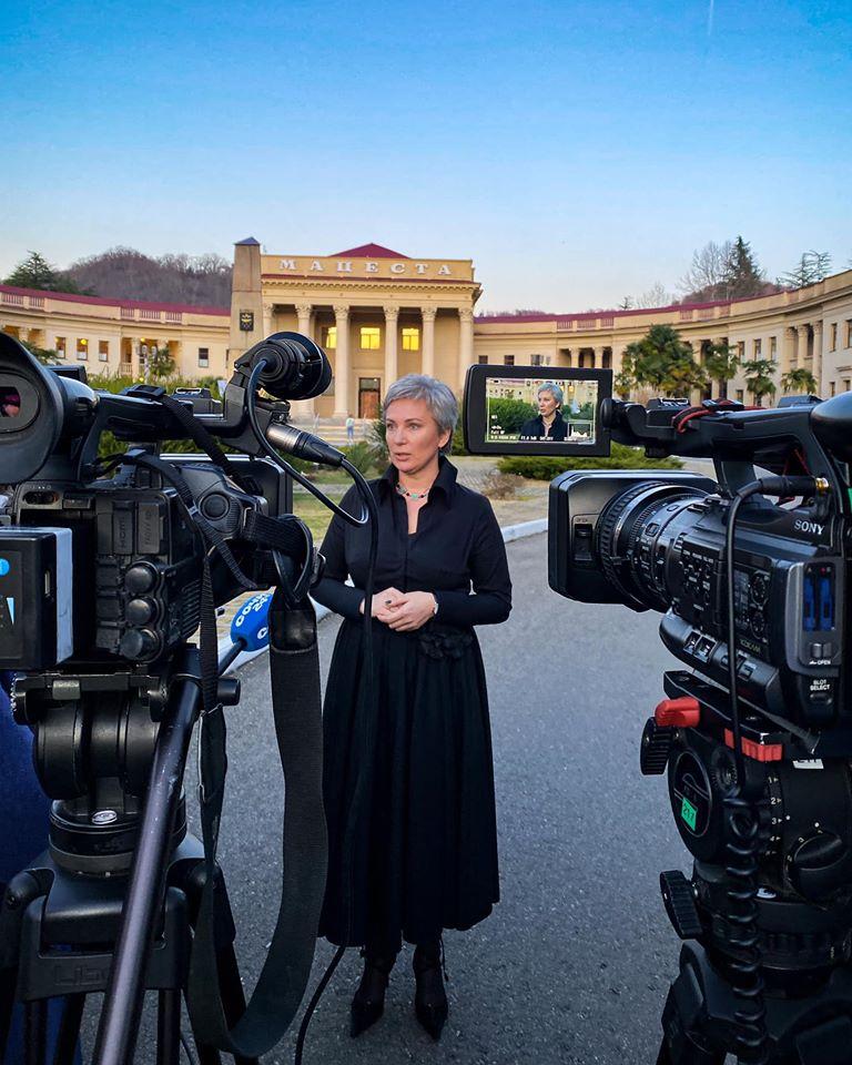Более 40 журналистоводновременно побывали на Мацесте!