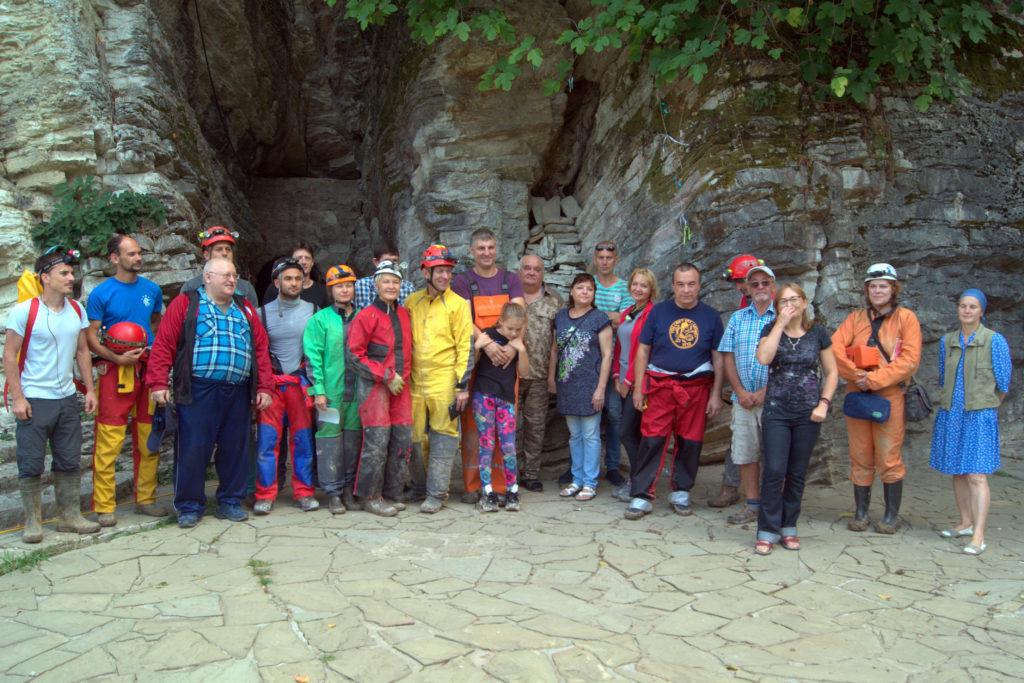 Исследование Мацестинской пещеры