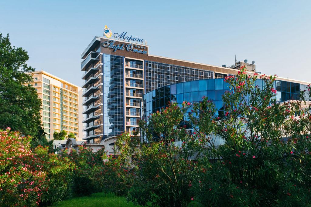 Новый совместный продукт с отелем в центре Сочи